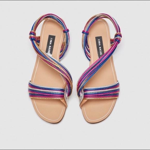 0e2b9c4948670 Zara multicolor Sandals